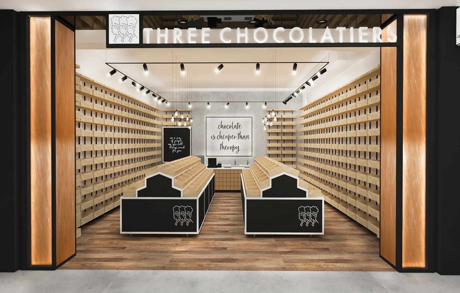 THREE CHOCOLATIERS | Sydney Domestic Airport