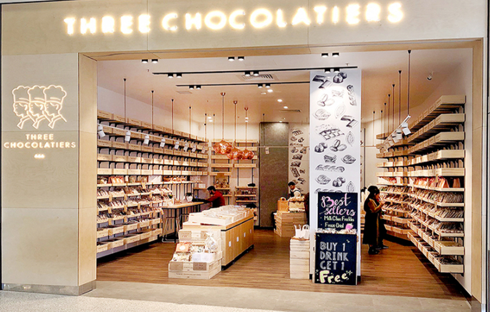THREE CHOCOLATIERS | Bankstown